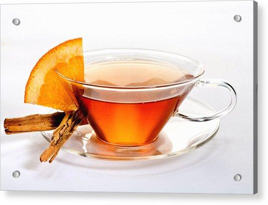 Orange Tea 5528 Acrylic Print