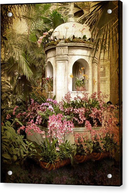 Orchid Exhibition Acrylic Print