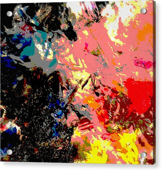 Original Fine Art Digital 3c Acrylic Print