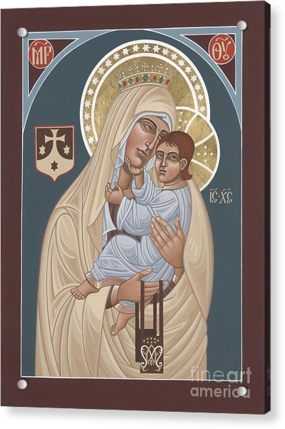Our Lady Of Mt. Carmel 255 Acrylic Print