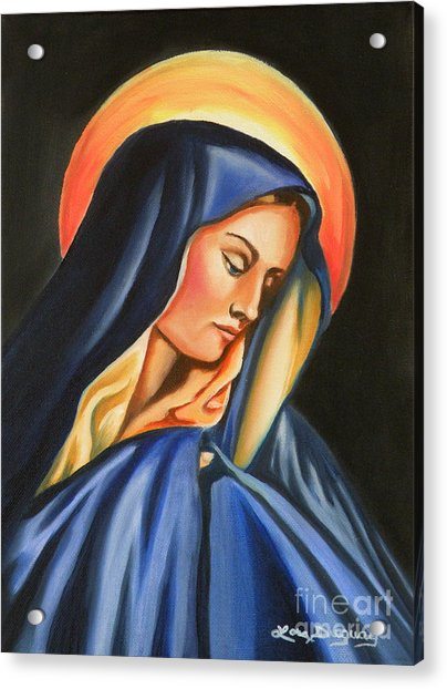 Our Lady Of Sorrows Acrylic Print