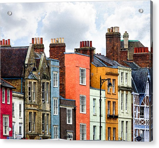 Oxford Medley Acrylic Print