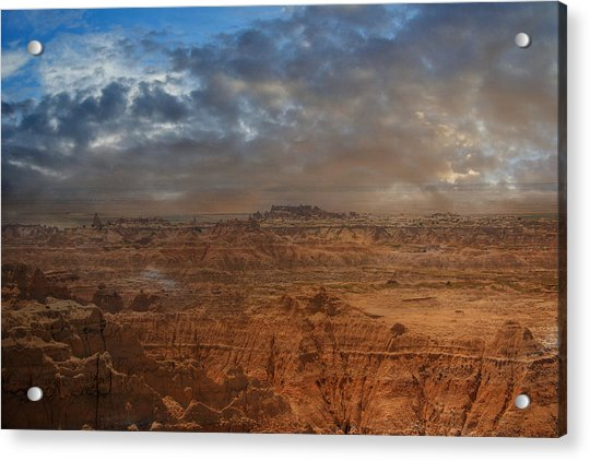 Painted By Nature Acrylic Print