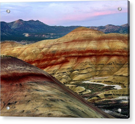 Painted Hills  Acrylic Print