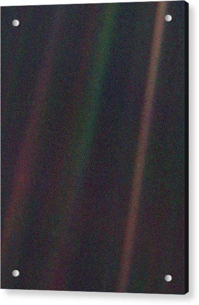 Pale Blue Dot Acrylic Print