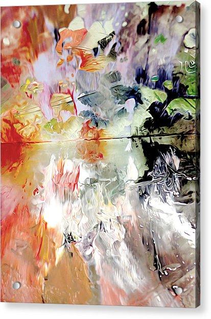 Palette Acrylic Print
