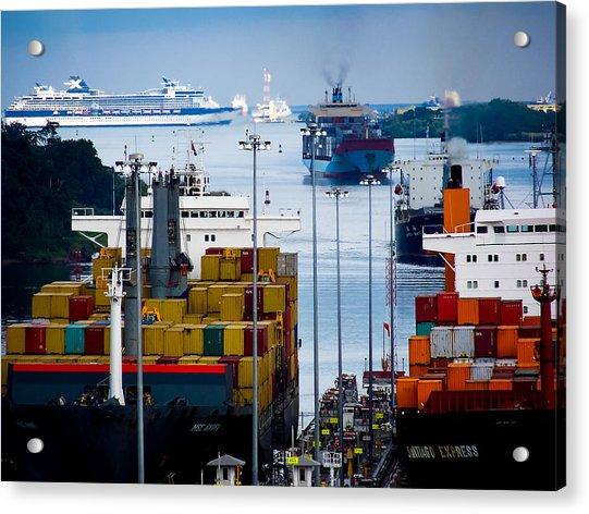 Panama Canal Express Acrylic Print