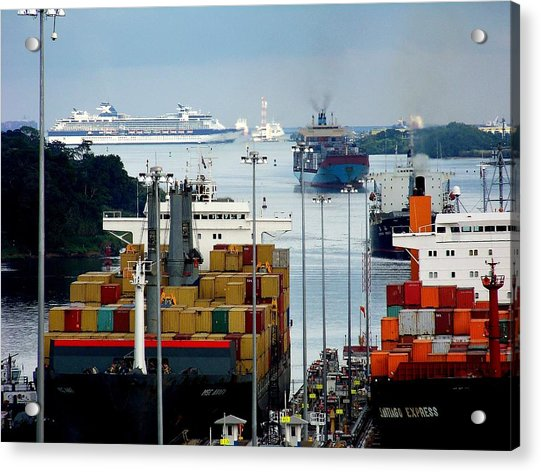 Panama Express Acrylic Print