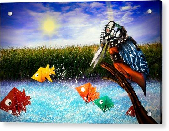 Paper Dreams Acrylic Print