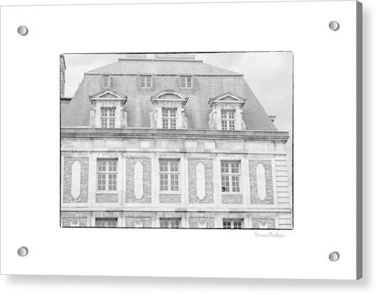 Paris House Acrylic Print