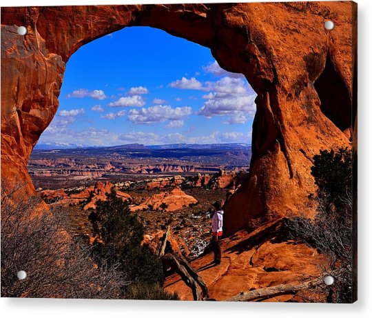 Partition Arch Acrylic Print
