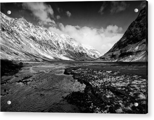 Pass Of Glencoe Acrylic Print