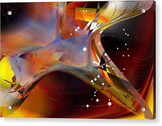 Passing Orion - Constellation Stars Acrylic Print