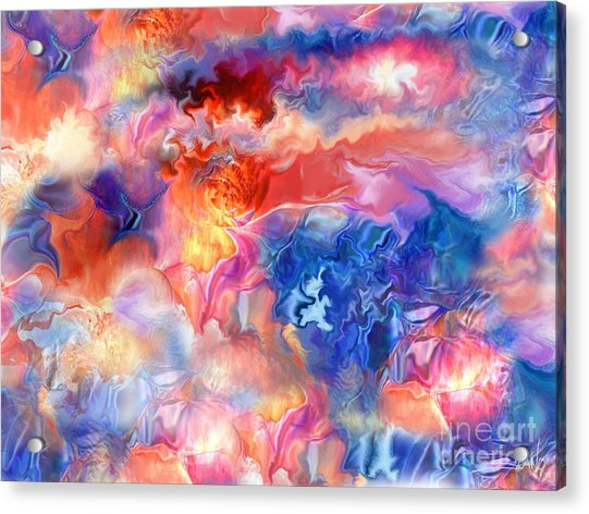 Pastel Storm By Spano  Acrylic Print