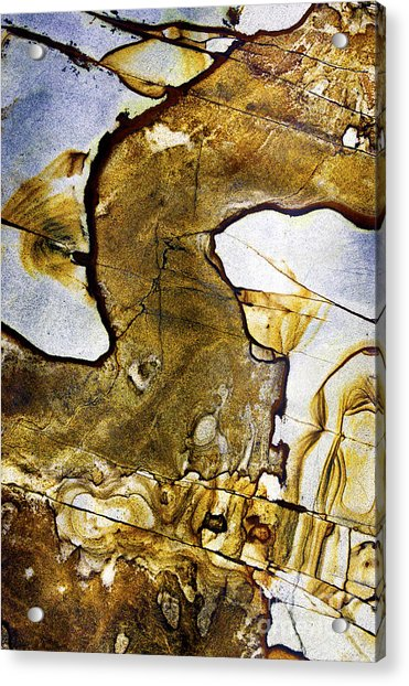 Patterns In Stone - 153 Acrylic Print