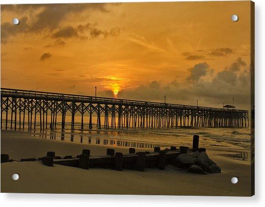 Pawleys Island Sunrise Acrylic Print