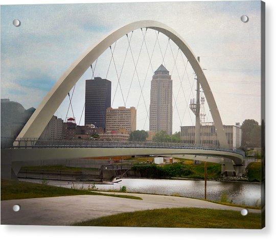 Pedestrian Bridge Acrylic Print