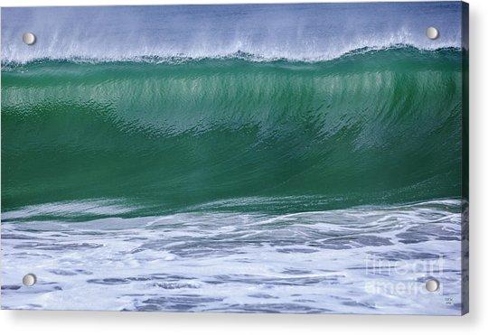 Perfect Wave Large Canvas Art, Canvas Print, Large Art, Large Wall Decor, Home Decor, Photograph Acrylic Print