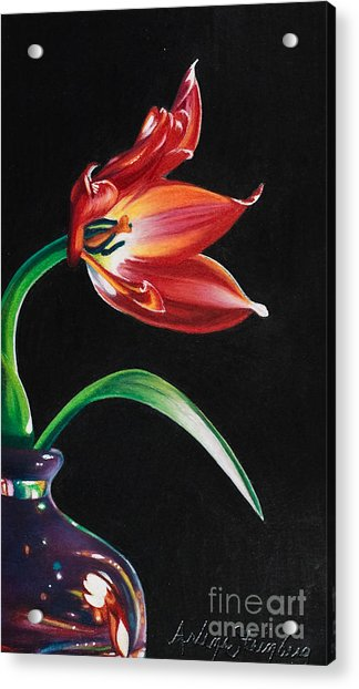 Perfumed Brilliance Acrylic Print by Arlene Steinberg