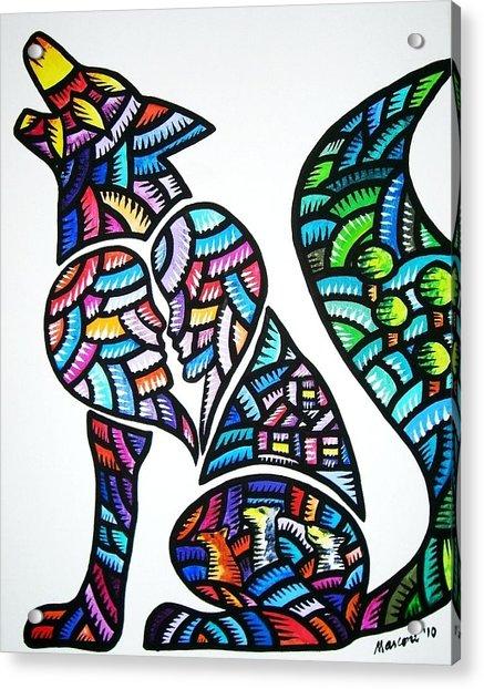 Pet For Love Acrylic Print
