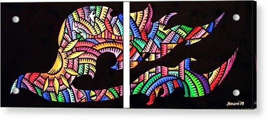 Phoenix Sf Acrylic Print