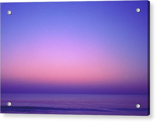 Pink Ocean Acrylic Print