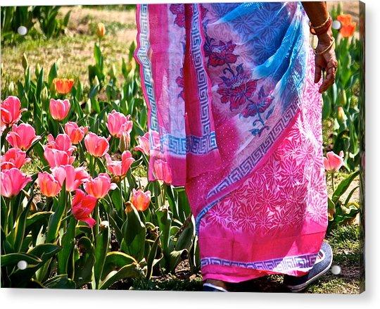 Pinks Acrylic Print