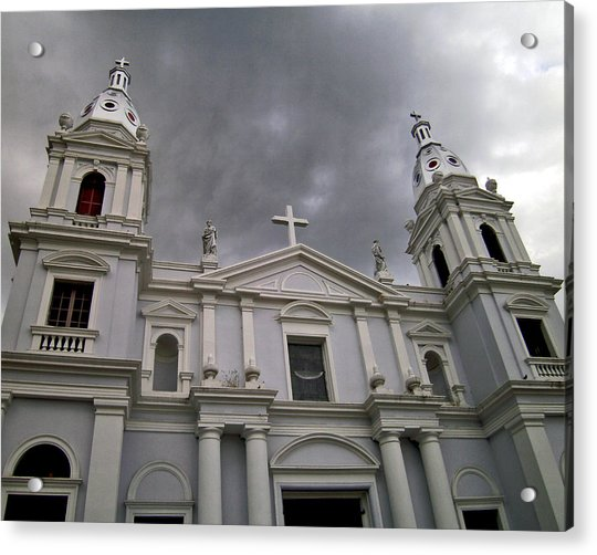 Ponce Cathedral Acrylic Print