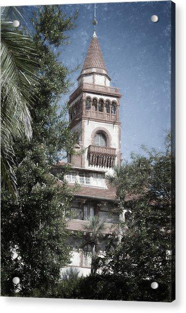 Ponce De Leon Hall Acrylic Print
