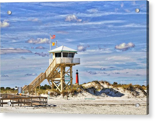 Acrylic Print featuring the photograph Ponce Inlet Scenic by Alice Gipson