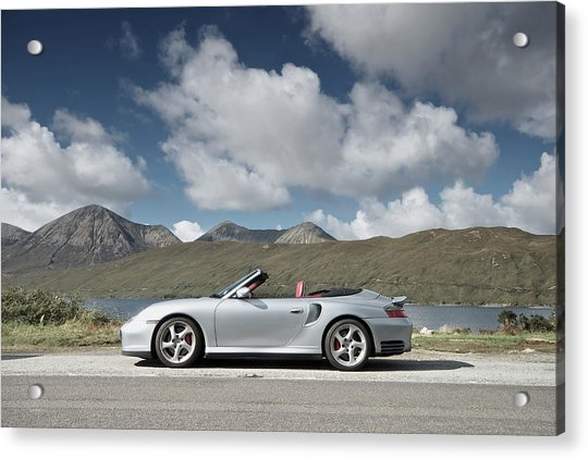 Porsche 911 - 996 Turbo Acrylic Print