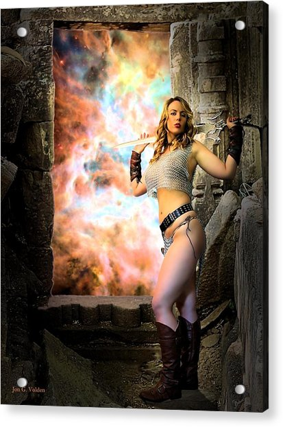 Portal Of Magic Acrylic Print
