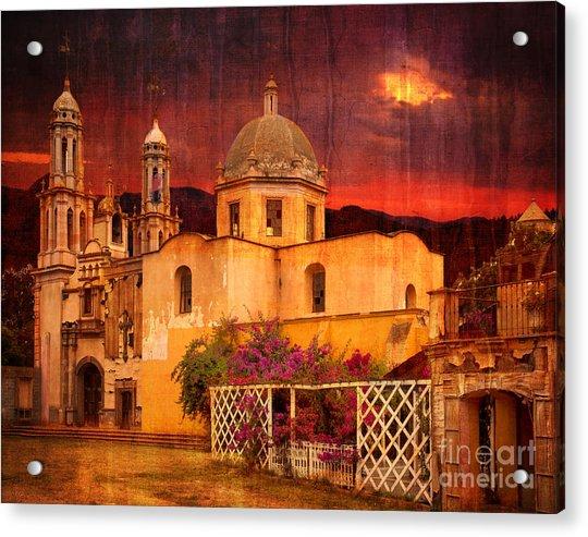 Prayers At Dusk Acrylic Print