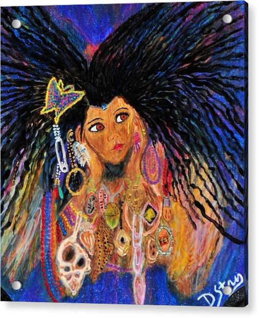 Precious Fairy Child Acrylic Print
