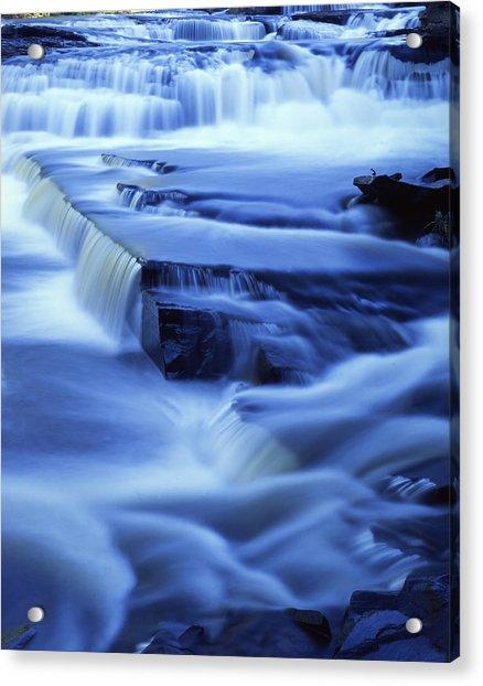 Presque Isle Falls Acrylic Print