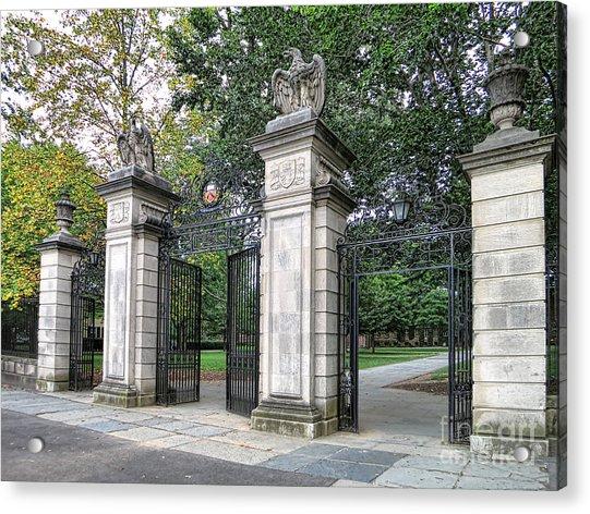 Princeton University Main Gate Acrylic Print