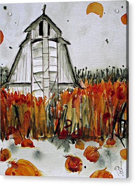 Pumpkin Dreams Acrylic Print