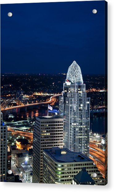 Queen City Tower Acrylic Print