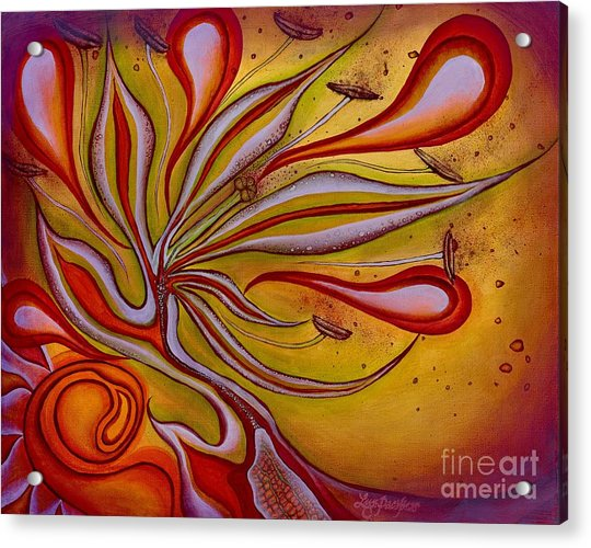 Radiance Of Purpose Acrylic Print