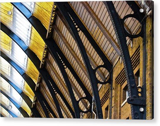 Rafters At London Kings Cross Acrylic Print