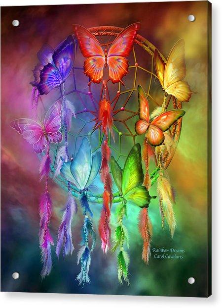 Rainbow Dreams Acrylic Print