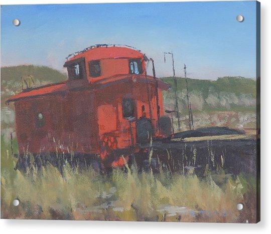 Red - Art By Bill Tomsa Acrylic Print