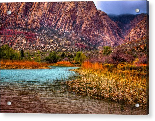 Red Rock Canyon Conservation Area Acrylic Print