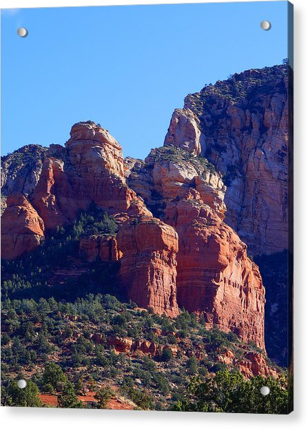 Red Rock Country Landscapes Acrylic Print