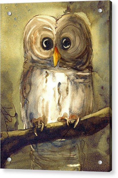Redbird Cottage Owl Acrylic Print