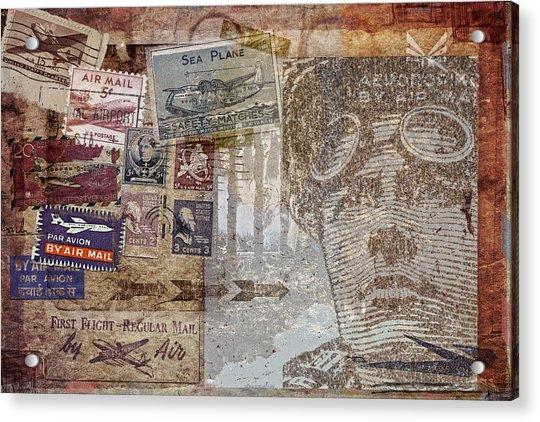 Regular Mail By Air Acrylic Print