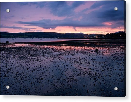 Rhu Marina Sundown Acrylic Print