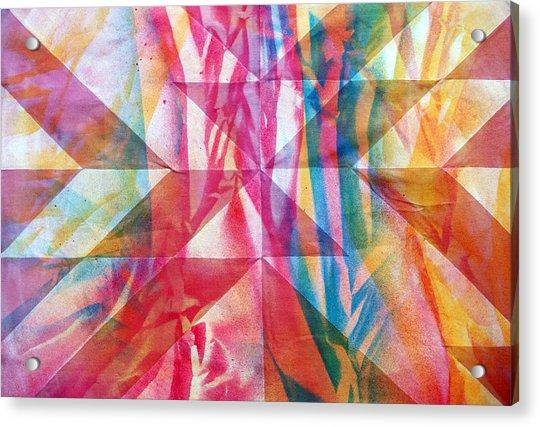 Rhythm And Flow Acrylic Print