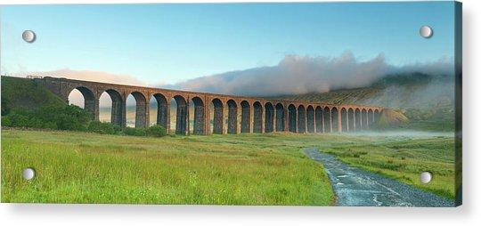 Ribblehead Viaduct Yorkshire Dales By Chris Hepburn