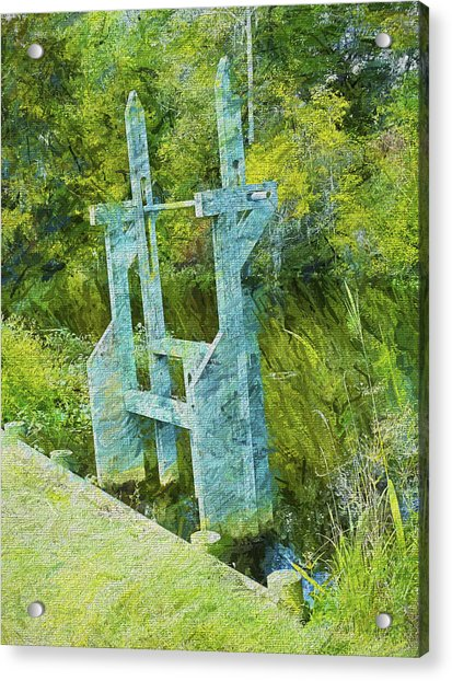 Rice Trunk - Faux Painting Acrylic Print